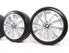 BMW Sommerkompletträder 1er F20 F21 2er F22 F23 18 Zoll Styling 387 V-Speiche