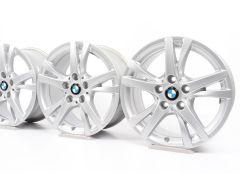 4x BMW Velgen 1 Serie F40 2 Serie F45 F46 16 Inch Styling 473 Doppelspeiche