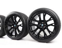 BMW Velgen met Winterbanden X5M F95 X6M F96 21 Inch 22 Inch Styling 809 M Sterspaak