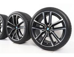 BMW Velgen met Zomerbanden 3 Serie G20 G21 4 Serie G22 G23 19 Inch Styling 797 M Doppelspeiche