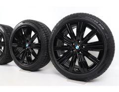 BMW Winterkompletträder 3er G20 G21 4er G22 G23 18 Zoll Styling 782 Doppelspeiche