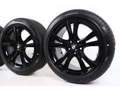 BMW Sommerkompletträder 2er F45 F46 18 Zoll Styling 484 Y-Speiche