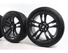 BMW Sommerkompletträder 3er F34 19 Zoll Styling 598 M Doppelspeiche