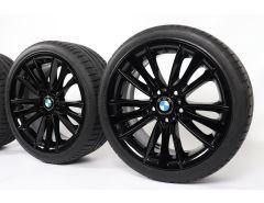 BMW Sommerkompletträder 1er E81 3-Türer 1er E82 Coupé 1er E87 5-Türer 1er E88 Cabrio 18 Zoll Styling 263 W-Speiche