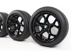 BMW Velgen met Zomerbanden X1 E84 18 Inch Styling 322 V-Speiche