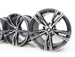 4x BMW Alloy Rims Z4 G29 18 Inch Styling 798 M Doppelspeiche