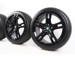 BMW Velgen met Winterbanden 1 Serie F40 2 Serie F44 18 Inch Styling 556 M Doppelspeiche