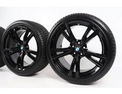 BMW Winterkompletträder 3er G20 G21 4er G22 G23 19 Zoll Styling 793i Doppelspeiche