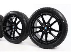 BMW Winterkompletträder 3er G20 G21 4er G22 G23 18 Zoll Styling 780 V-Speiche