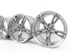 4x BMW Alufelgen M5 F90 M8 F91 F92 19 Zoll Styling 705 M Doppelspeiche