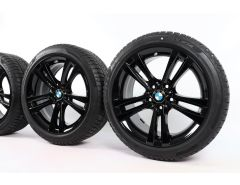 BMW Winterkompletträder 3er F30 F31 4er F32 F33 F36 18 Zoll Styling 397 Doppelspeiche