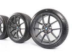 BMW Sommerkompletträder 3er G20 G21 4er G22 G23 19 Zoll Styling 898 M Y-Speiche