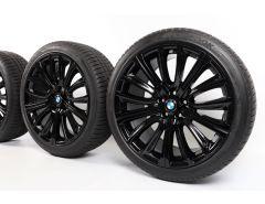 BMW Velgen met Winterbanden 6 Serie G32 7 Serie G11 G12 20 Inch Styling 628 V-Speiche