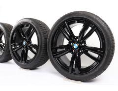 BMW Winterkompletträder 3er F30 F31 4er F32 F33 F36 19 Zoll Styling 442 M Doppelspeiche