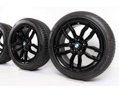 BMW Velgen met Winterbanden X3 F25 X4 F26 19 Inch Styling 622 M Doppelspeiche