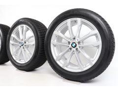 BMW Winter Wheels X3 G01 X4 G02 19 Inch Styling 691 V-Speiche