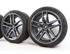 BMW Sommerkompletträder M5 F90 M8 F91 F92 20 Zoll Styling 810 M Doppelspeiche