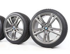 BMW Velgen met Winterbanden 1 Serie F40 2 Serie F44 18 Inch Styling 486 M Doppelspeiche