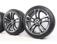 BMW Summer Wheels 3 Series F34 19 Inch Styling 598 M Doppelspeiche