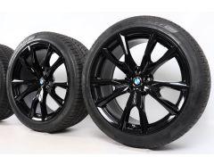 BMW Winterkompletträder X7 G07 Styling 755 M V-Speiche