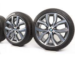 BMW Winterkompletträder X1 F48 X2 F39 19 Zoll Styling 511 Y-Speiche