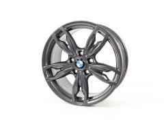 1x BMW Alufelge 1er F20 F21 2er F22 F23 18 Zoll Styling 436 M Doppelspeiche