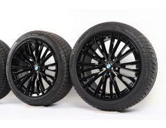 BMW Winterkompletträder 3er G20 G21 4er G22 G23 18 Zoll Styling 781 Vielspeiche