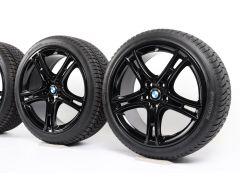 BMW Winterkompletträder 1er F40 2er F44 18 Zoll Styling 361 Doppelspeiche