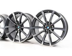 4x BMW Velgen 6 Serie G32 7 Serie G11 G12 19 Inch Styling 685 V-Speiche