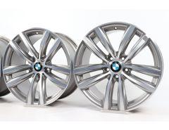4x BMW Velgen 3 Serie F34 19 Inch Styling 466 Dubbelspaak