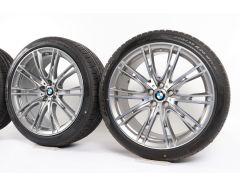 BMW Velgen met Winterbanden 6 Serie G32 7 Serie G11 G12 20 Inch Styling 649i V-Speiche