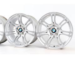 4x BMW Velgen 5 Serie F10 F11 6 Serie F06 F12 F13 18 Inch Styling 350 M Dubbelspaak