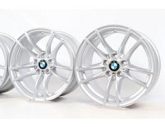4x BMW Alufelgen M2 F87 M3 F80 M4 F82 F83 18 Zoll Styling 640 Doppelspeiche