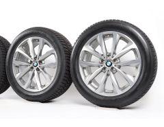BMW Velgen met Winterbanden X3 G01 X4 G02 19 Inch Styling 692 V-Speiche