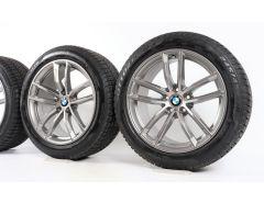 BMW Winter Wheels 5 Series G30 G31 18 Inch Styling 662 M Doppelspeiche