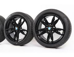 BMW Winterkompletträder 1er F20 F21 2er F22 F23 18 Zoll Styling 436 M Doppelspeiche