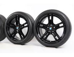 BMW Sommerkompletträder 1er F40 2er F44 18 Zoll Styling 819 M Doppelspeiche