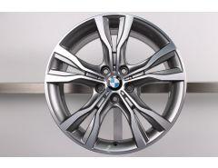 BMW Alloy Rim 2 Series F45 F46 18 Inch Styling 484 Double-Spoke