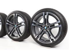 BMW Velgen met Winterbanden 1 Serie F40 2 Serie F44 18 Inch Styling 819 M Doppelspeiche