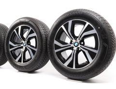 BMW Velgen met Zomerbanden X3 G01 X4 G02 18 Inch Styling 689 Turbinenstyling