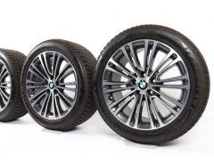 BMW Winter Wheels 5 Series G30 G31 18 Inch Styling 634 Doppelspeiche