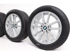 BMW Sommerkompletträder 3er G20 G21 4er G22 G23 17 Zoll Styling 778 V-Speiche