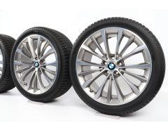 BMW Winter Wheels 5 Series G30 G31 19 Inch Styling 663 W-Speiche
