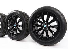 BMW Velgen met Winterbanden X3 F25 X4 F26 18 Inch Styling 307 V-Speiche