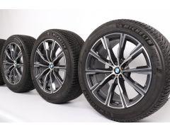 BMW Winterkompletträder X5 G05 X6 G06 20 Zoll Styling 740 M Sternspeiche