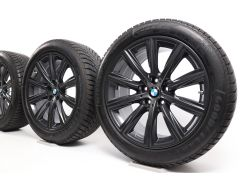BMW Winterkompletträder 5er G30 G31 18 Zoll Styling 684 V-Speiche