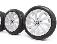BMW Winterkompletträder 1er F20 F21 2er F22 F23 17 Zoll Styling 381 Turbinenstyling