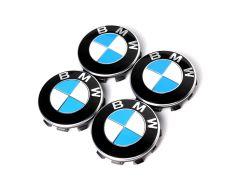 1 Satz BMW Nabendeckel 55mm gebraucht