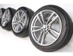 BMW Sommerkompletträder 6er G32 7er G11 G12 19 Zoll Styling 647 M Doppelspeiche