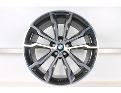 BMW Alloy Rim X3 G01 X4 G02 20 Inch Styling 699 M M Double-Spoke